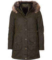 barbour homeswood wax jacket / barbour homeswood wax jacket, olive, 10