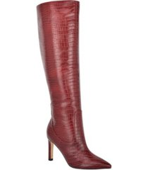 nine west women's maxim tall stiletto boots women's shoes