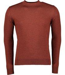 nils pullover - slim fit - brique