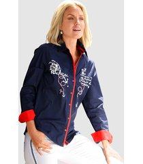 blouse paola marine::rood