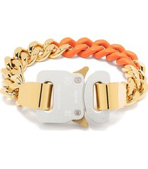 1017 alyx 9sm curb chain buckle bracelet - gold