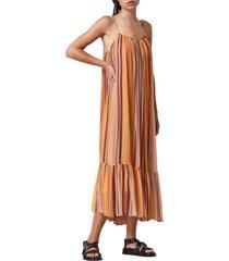 women's allsaints paola stripe sleeveless dress