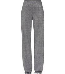 pantaloni eleganti con ruches (nero) - bodyflirt boutique