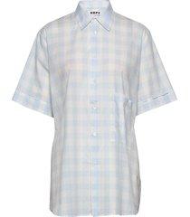 elma shortsleeve overhemd met korte mouwen blauw hope