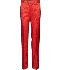 pant pantalon met rechte pijpen rood msgm