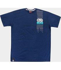 camiseta ecko style plus size masculina - masculino