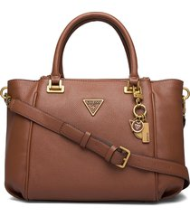 destiny status satchel bags top handle bags guess