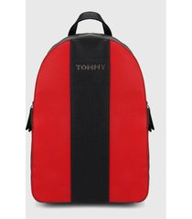 morral  azul oscuro-rojo tommy hilfiger
