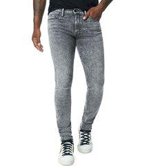 joe's jeans men's dean slim straight jeans - grey - size 38
