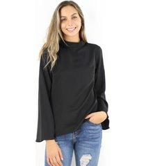 blusa paula negra jacinta tienda