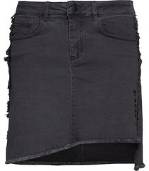 biarritz denim skirt kort kjol svart svea