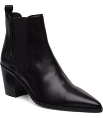 booties 3720 shoes boots ankle boots ankle boots with heel svart billi bi