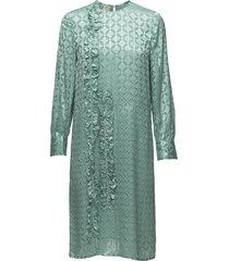 alba jurk knielengte groen baum und pferdgarten