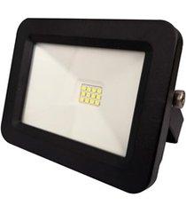 refletor led deep fit 20w bivolt preto 6500k luz branca