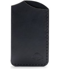 ezra arthur no. 1 leather card case in malbec at nordstrom