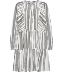 emmons korte jurk grijs mbym