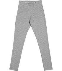 calça legging em jacquard pernambucanas feminina