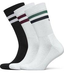 sock ankle crew sock bb double stripe ankelstrumpor korta strumpor multi/mönstrad björn borg