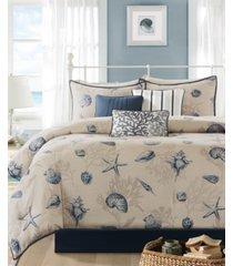 madison park bayside 7-pc. queen comforter set bedding