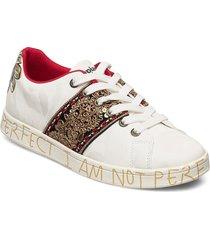 shoes cosmic india låga sneakers vit desigual shoes