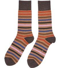 'tinted stripe' socks