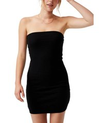 women's parker strapless bodycon mini dress