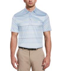 pga tour men's big and tall striped polo shirt