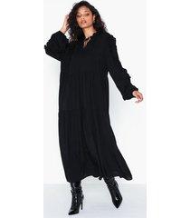 noisy may nmmaren l/s oversize long dress loose fit dresses