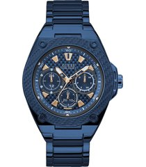 reloj guess hombre legacy/w1305g4 - azul