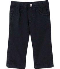 il gufo elasticated waist trousers