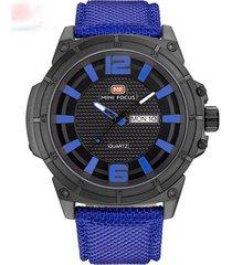 reloj análogo f0136g-4 hombre azul