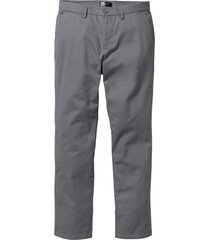 pantaloni chino regular fit straight (grigio) - bpc bonprix collection