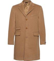 wesley wool cashmere coat wollen jas lange jas beige morris