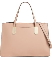 alfani multi zip satchel, created for macy's