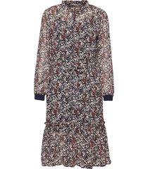 frhachif 1 dress knälång klänning multi/mönstrad fransa