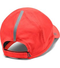 gorra running under armour launch hombre rojo