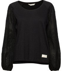 swagy long sleeve top t-shirts & tops long-sleeved zwart odd molly