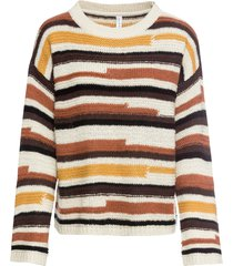 maglione a righe (beige) - rainbow