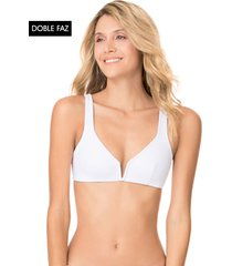 traje de baño top blanco maaji swimwear sea salt victory