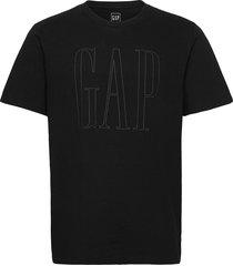 db logo t t-shirts short-sleeved svart gap