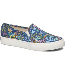 zapatilla double decker meadow rifle paper azul floral keds