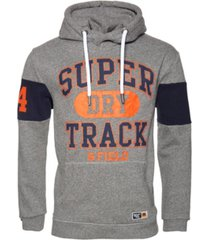 superdry men's super track oversized hoodie