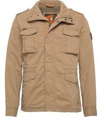 classic rookie jacket tunn jacka beige superdry