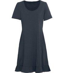 comfortabele jurk van bio-jersey, nachtblauw 46