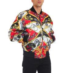 baroque bomber jacket