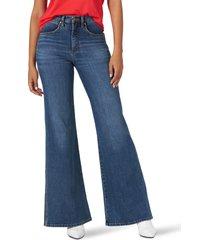 women's wrangler fly high waist flare jeans