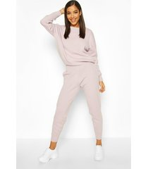 knitted sweater & jogger co-ord, lilac