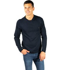 sweater azul pato pampa base jersey -roulotte-