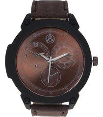reloj marrón vox