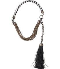 vita short tassle necklace